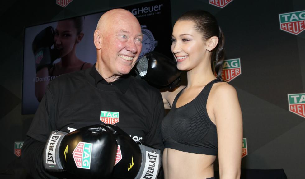 Bella Hadid alege TAG Heuer
