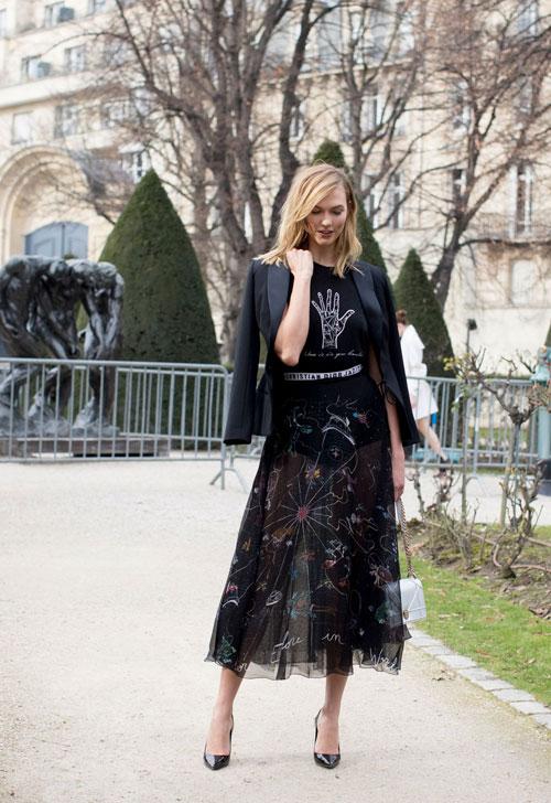 Best streetstyle looks @ Saptamana Modei de la Paris (II)