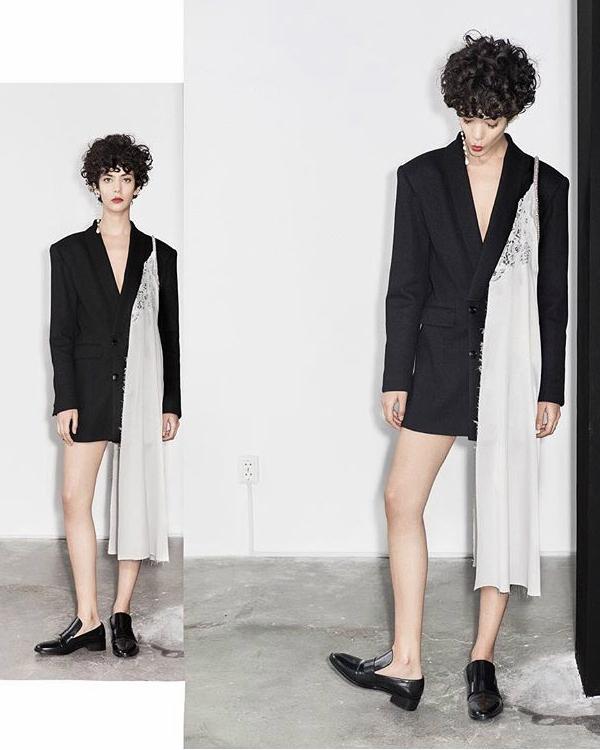 Cristina Savulescu - rochia sacou