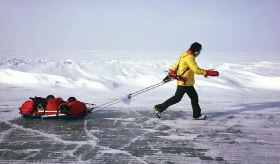 Tiberiu Useriu a castigat pentru a doua oara Maratonul 6633 Arctic Ultra