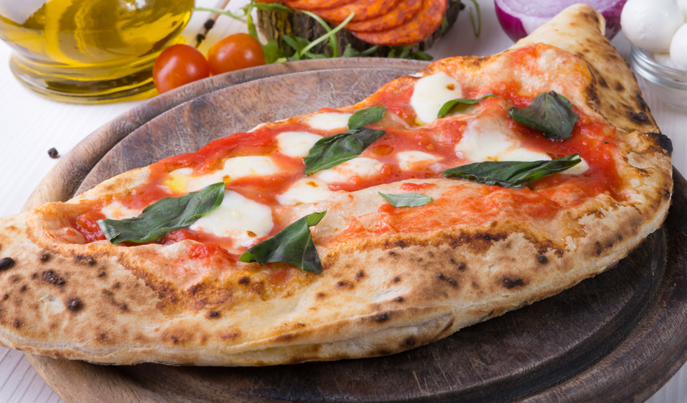 Pizza calzone inedita