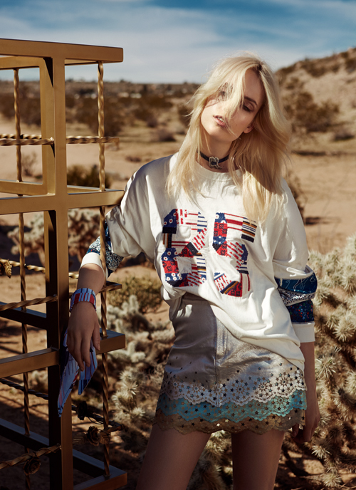 Editorial fashion: Desert ride