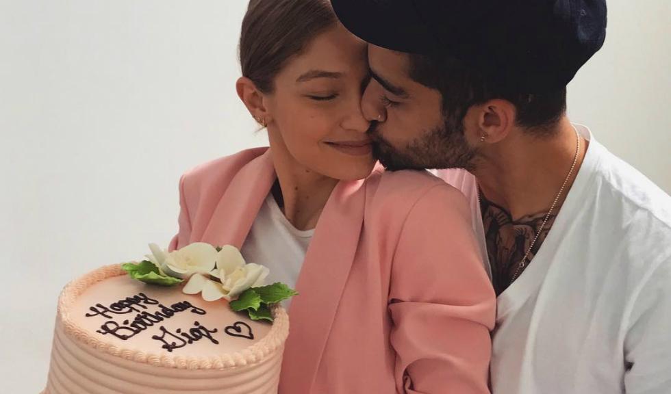"Cum i-a spus ""La multi ani!"" Zayn iubitei sale, Gigi Hadid"