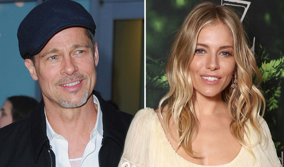 Sienna Miller vorbeste despre presupusa relatie cu Brad Pitt