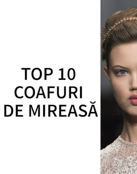 TOP 10 coafuri de mireasa (VIDEO)