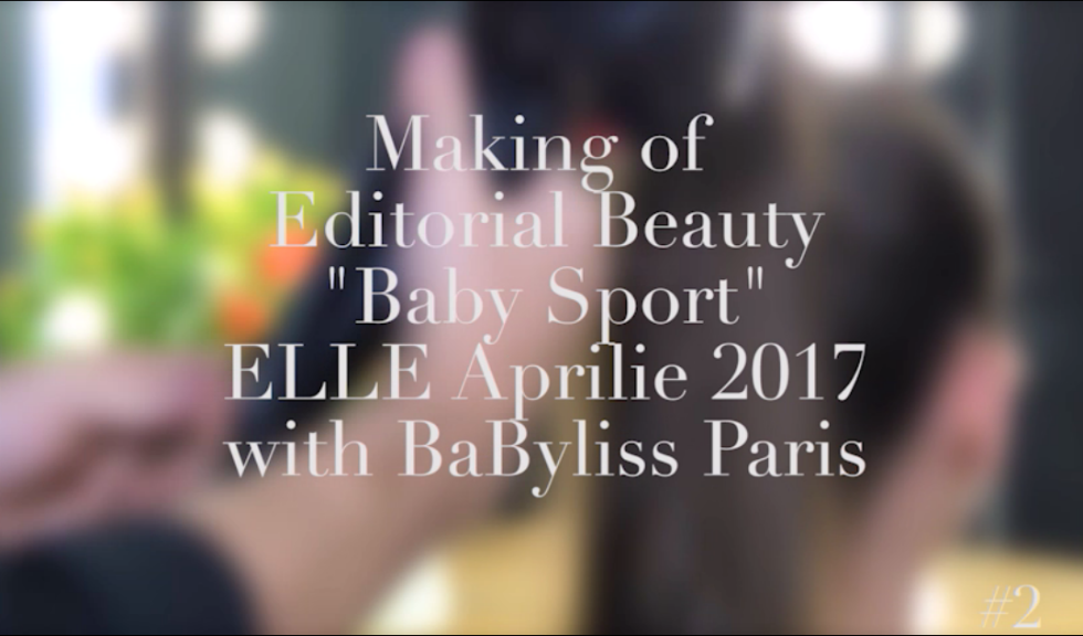 """Making of: Editorial Beauty – """"Baby Sport"""" with BaByliss Paris #2 (VIDEO)"""