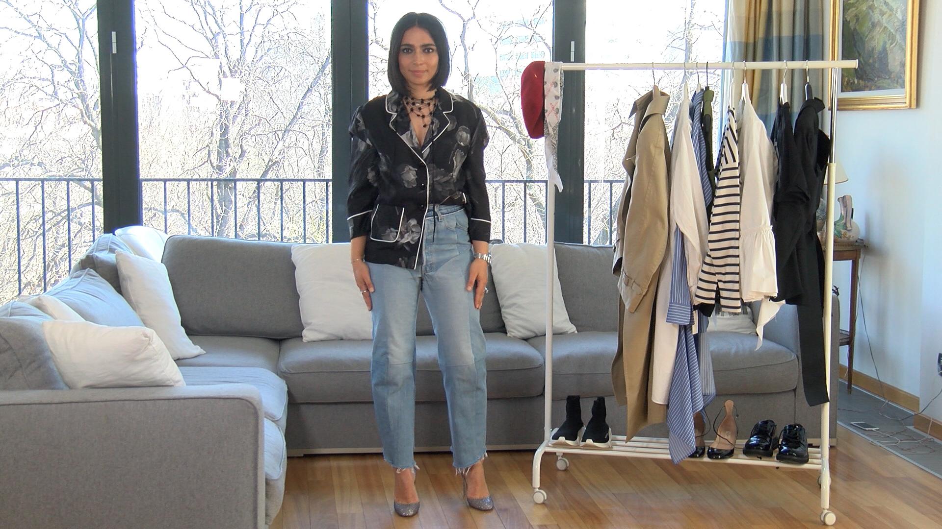 #ELLETeam: Cum sa porti blugii, cu Domnica Margescu #3 (VIDEO)