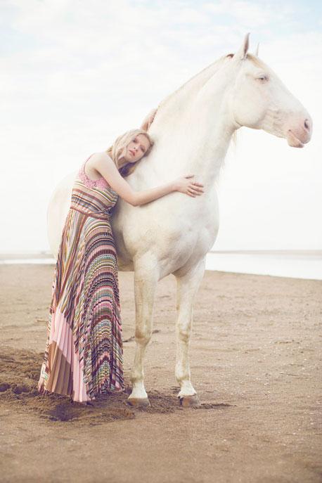 Editorial fashion: Sea Horse