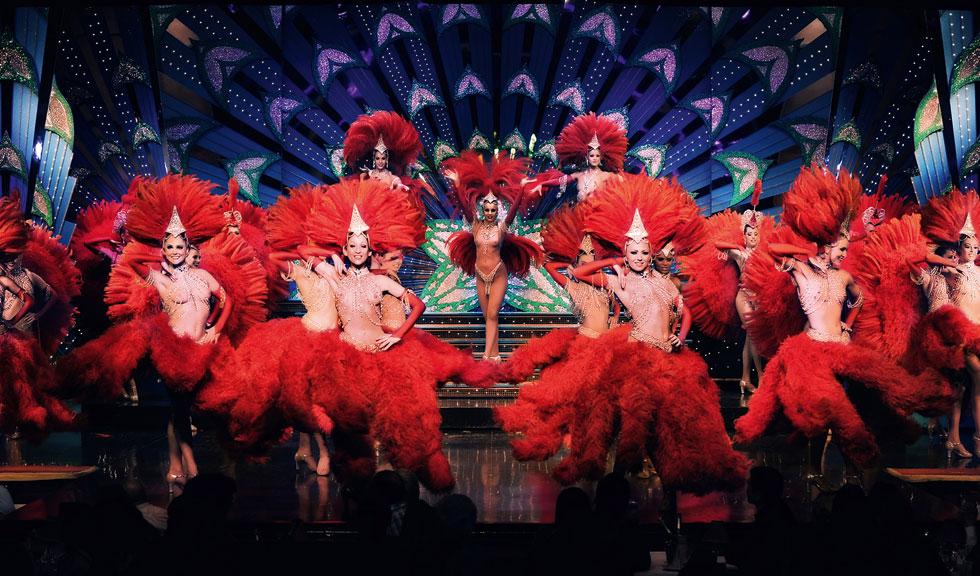 ELLE REPORTAJ: Femeile de la Moulin Rouge