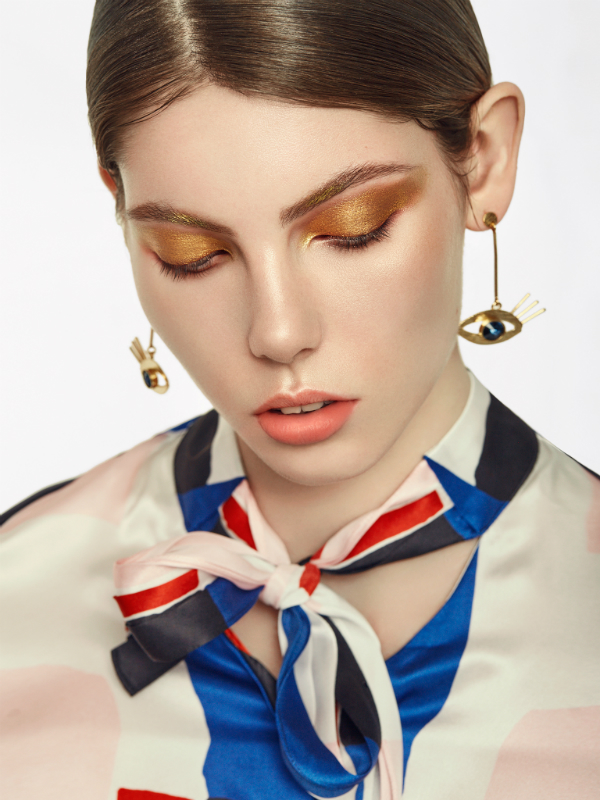 Editorial Beauty: Golden Girl