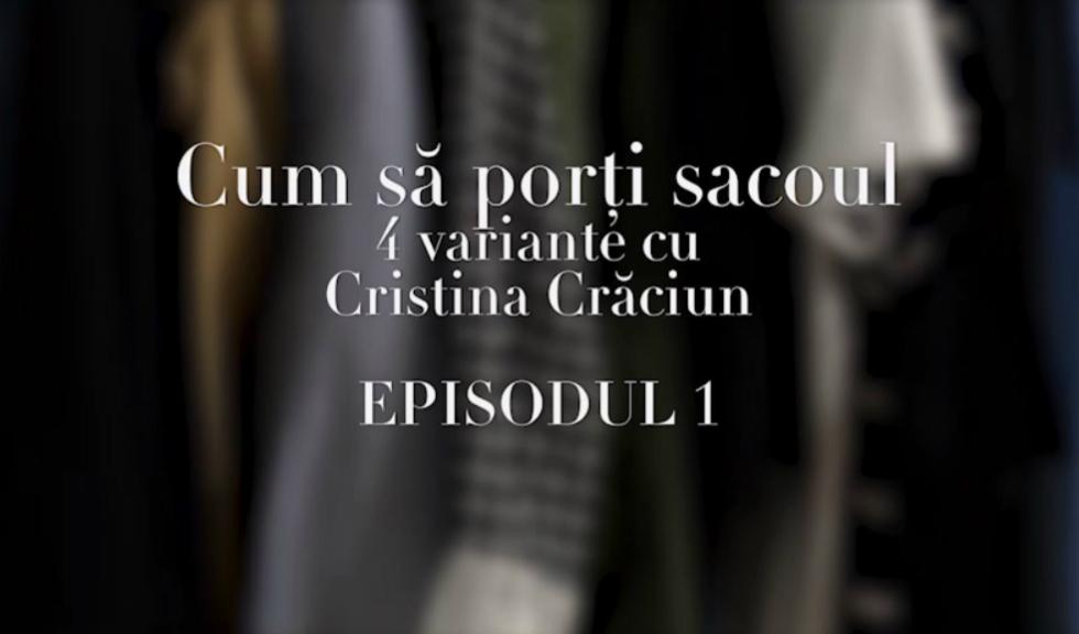 #ELLETeam: Cum sa porti sacoul, cu Cristina Craciun #1 (VIDEO)