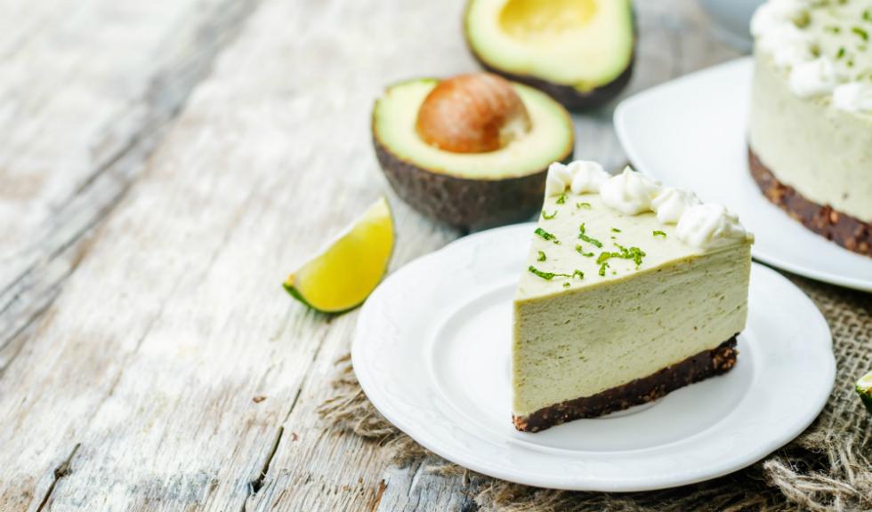 Cheesecake cu avocado si lime, fara coacere