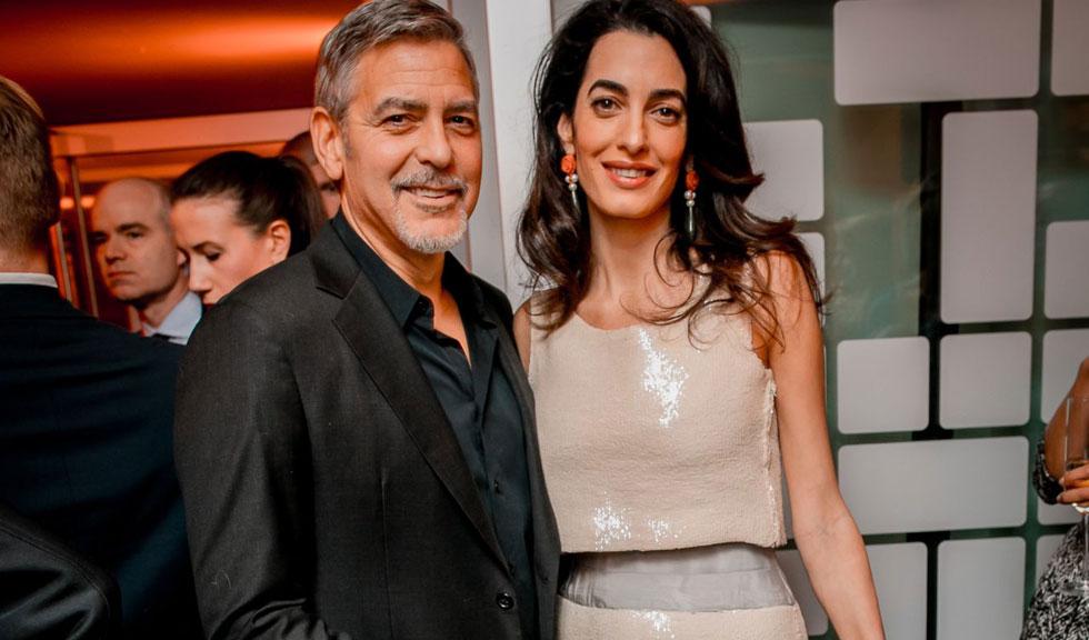 Povestea romantica nestiuta pana acum despre momentul in care s-au cunoscut George si Amal Clooney