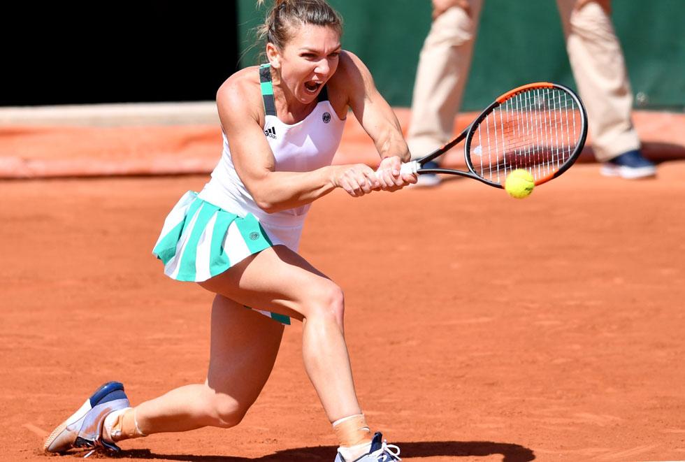 Simona Halep se califica in finala de la Roland Garros