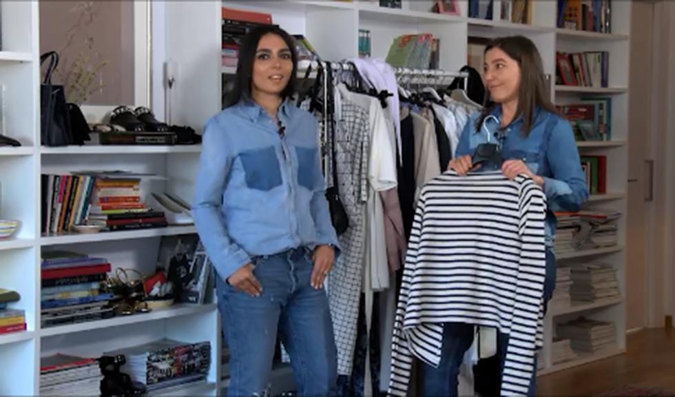 #ELLETeam: Cum sa porti mariniera in 2 stiluri diferite, cu Domnica Margescu & Cristina Craciun (VIDEO)