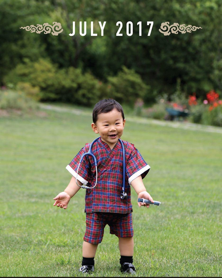 Imagini rare cu adorabilul Print al Bhutanului!