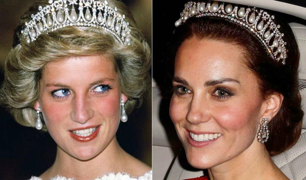 Kate Middleton a ales sa poarte din nou tiara Printesei Diana