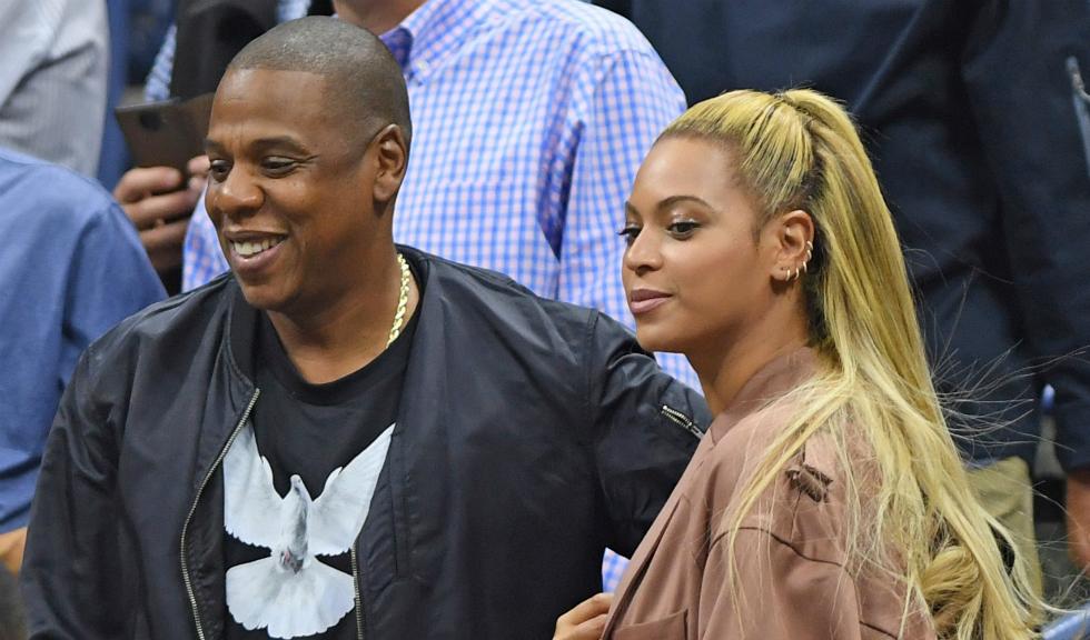 Prima imagine cu gemenii lui Beyonce si Jay-Z