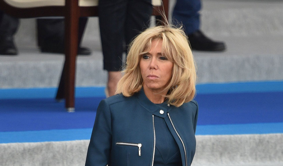 Tinuta lui Brigitte Macron, comentata de Maurice Munteanu