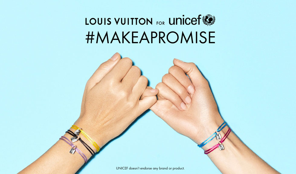 Silver Lockit Color – noile bratari Louis Vuitton in beneficiul UNICEF