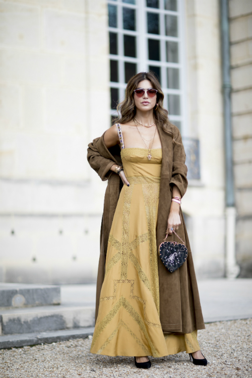 Best streetstyle looks @ Saptamana Modei de la Paris Spring 2018
