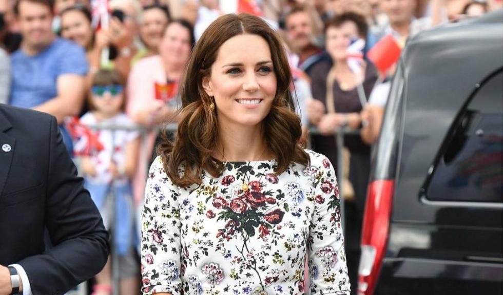 Primele imagini cu Kate Middleton, Ducesa de Cambridge, insarcinata cu al treilea copil