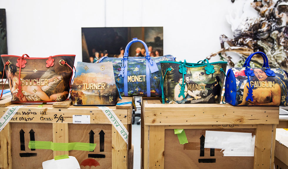 Capitolul II din colaborarea artistica Jeff Koons – Louis Vuitton