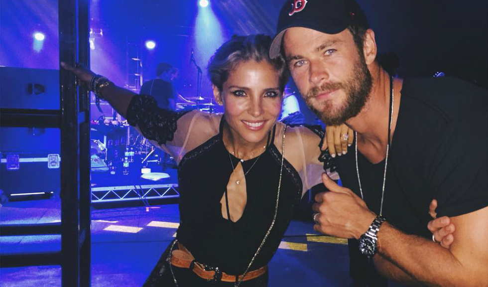 """Chris Hemsworth, actorul din """"Thor"""", salvat de la moarte chiar de sotia lui"""