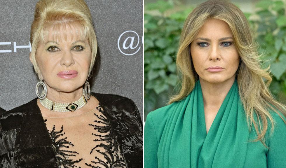 """Razboiul """"Primei Doamne"""": Ivana Trump vs. Melania Trump"""