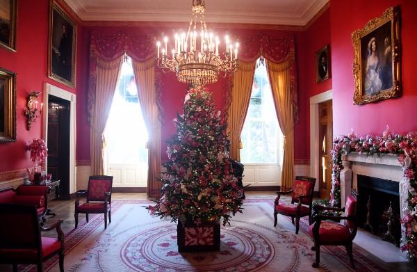 Craciunul la Casa Alba: decoratiunile au fost alese special de Prima Doamna Melania Trump (GALERIE FOTO)