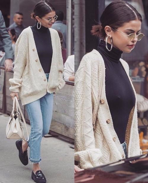 Cum sa porti puloverul oversized: inspiratie de la vedete & sugestii foarte accesibile