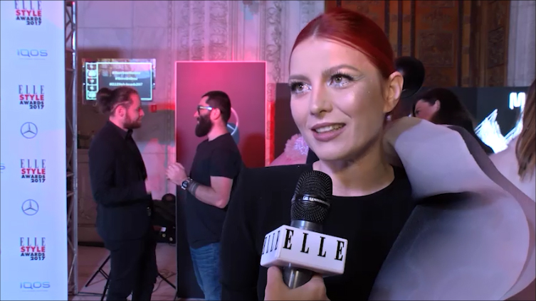 Elena Gheorghe, la ELLE Style Awards 2017 (VIDEO)
