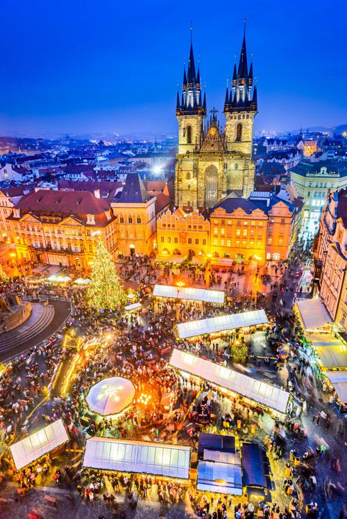 Cele mai mari târguri de Crăciun din Europa