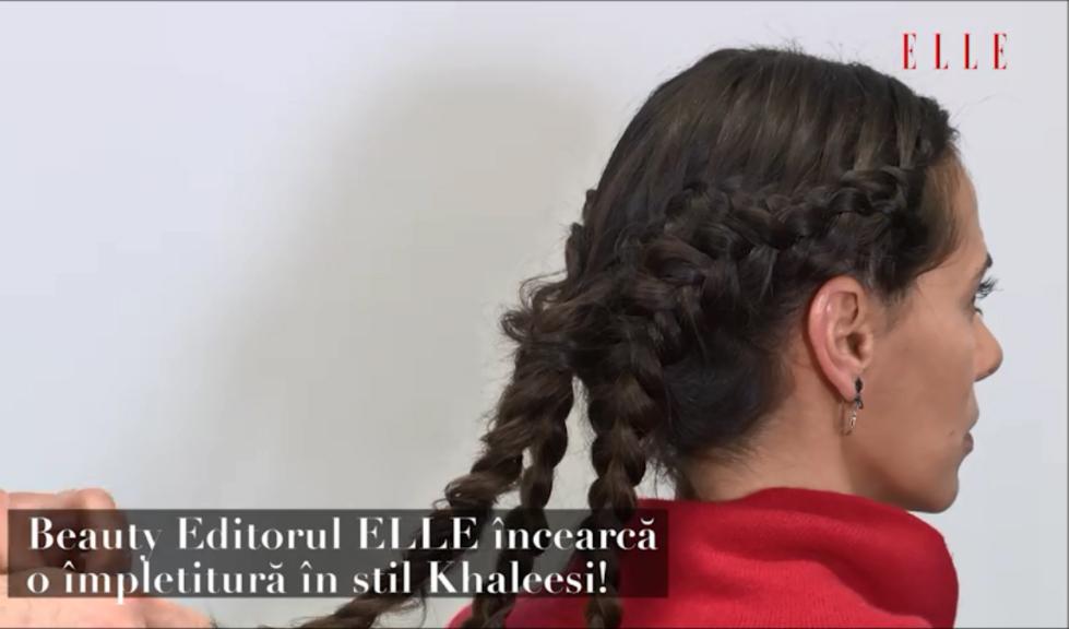 ELLE a încercat… împletitura în stil Khaleesi (VIDEO)