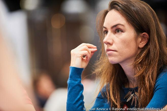 Manechin, campioană mondială la poker