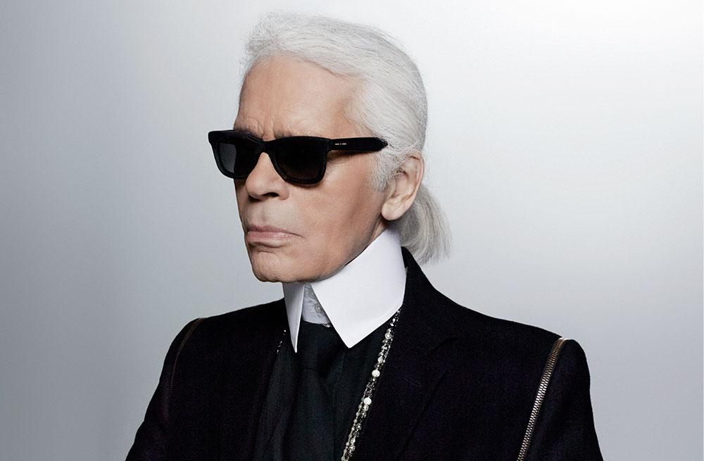 Karl Lagerfeld nu mai arată așa!