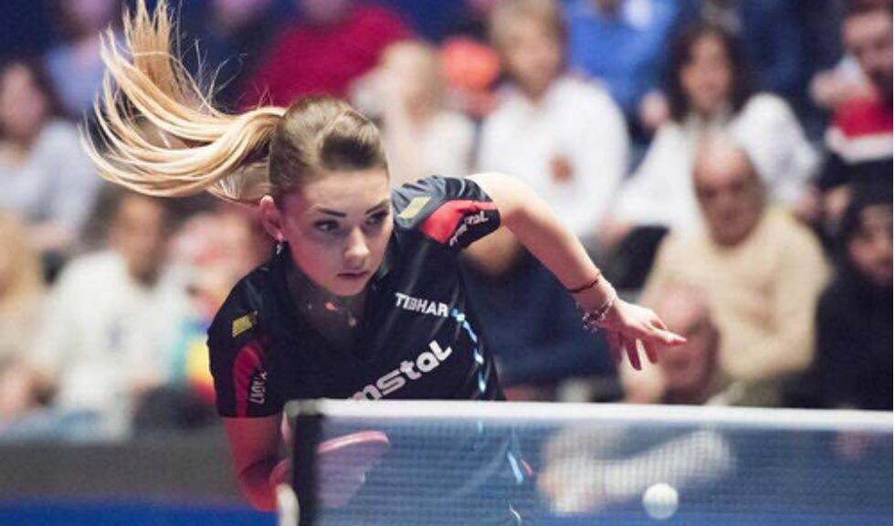 După 23 de ani titlul de cea mai bună jucătoare de ping pong din Europa revine unei jucătoare din România