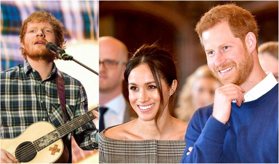 Ed Sheeran a fost invitat să cânte la nunta Prințului Harry cu Meghan Markle