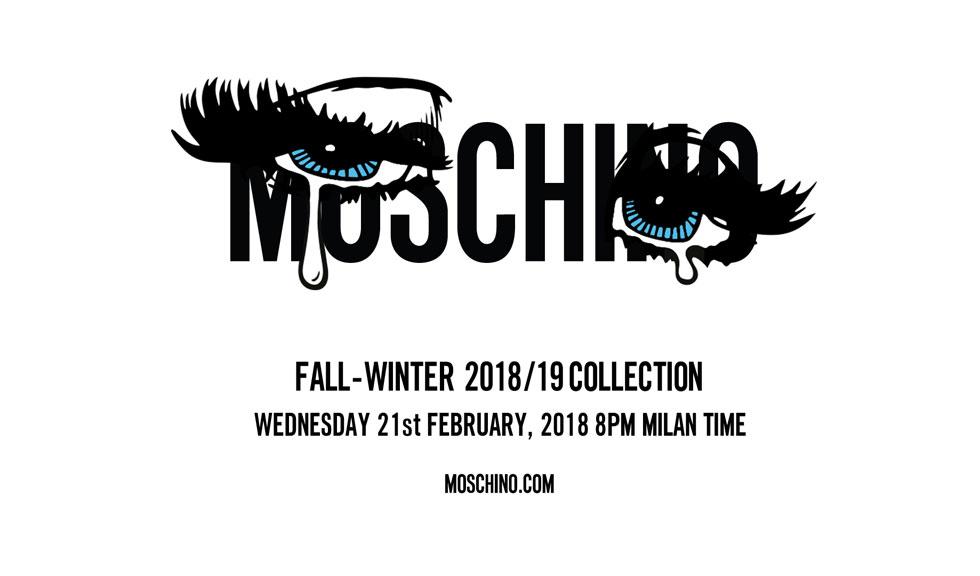Urmărește live prezentarea colecției Moschino toamnă-iarnă 2018!