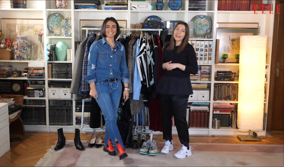 #ELLETeam: Cum să porți puloverul grafic, în 2 stiluri diferite, cu Domnica Mărgescu și Cristina Crăciun (VIDEO)