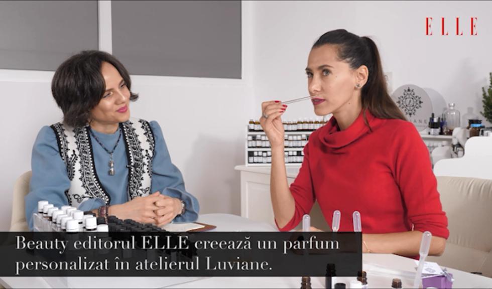 ELLE a încercat… un parfum personalizat (VIDEO)