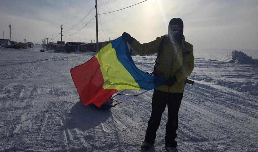 Tiberiu Ușeriu a câştigat pentru a treia oară consecutiv Ultramaratonul Arctic, cel mai greu maraton din lume