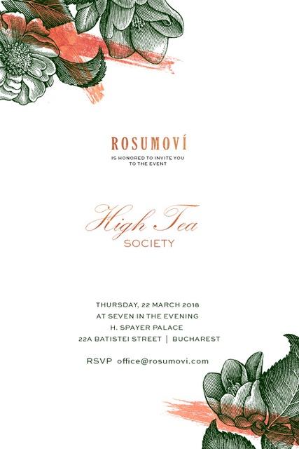 Rosumovi: High Tea Society