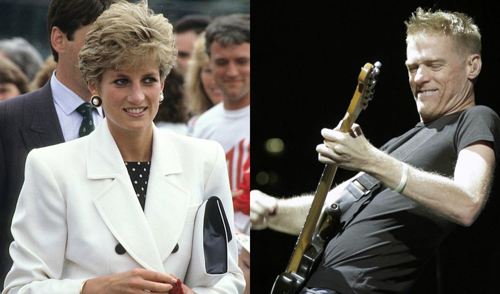 Prințesa Diana și cântărețul Bryan Adams au avut o aventură amoroasă, lucru confirmat de majordomul ei