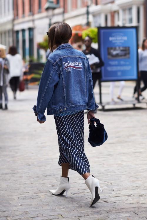 10 feluri în care să porți jacheta din denim (GALERIE FOTO)