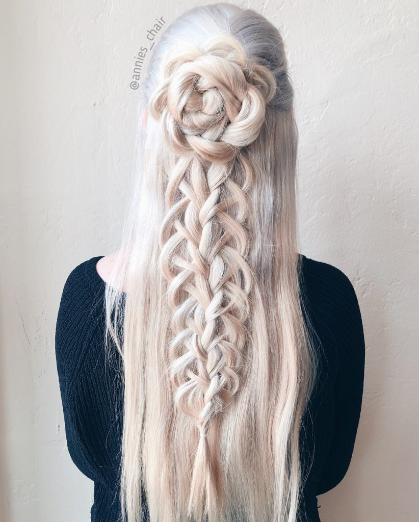 Braided Rose – cum poți obține cel mai cool hairstyle de pe Instagram