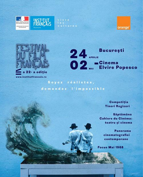 Începe Festivalul Filmului Francez din România – a 22-a ediție