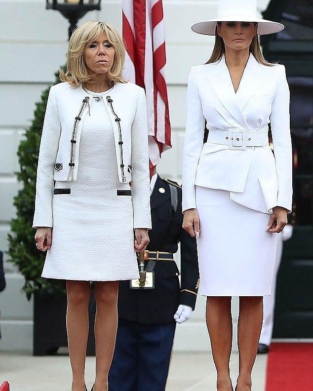 Brigitte Macron și Melania Trump: ce se întâmplă când chic-ul franțuzesc întâlnește glam-ul american