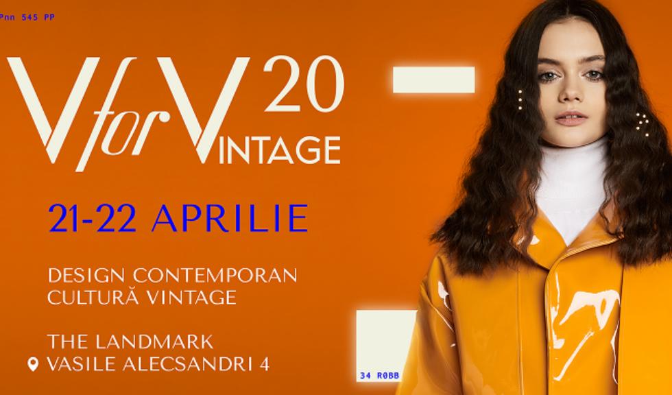 V for Vintage te conectează la designul contemporan și cultură vintage