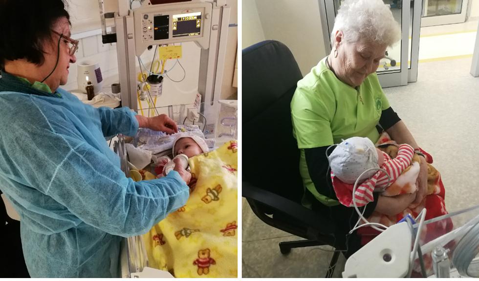 Cine nu are bătrâni, să-și cumpere: povestea bunicilor care oferă dragoste necondiționată copiilor bolnavi